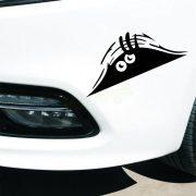 Car-Styling-Accessories-Reflective-Waterproof-Fashion-Funny-Peeking-Monster-Car-Sticker-vinyl-decal-decorate-sticker-1
