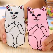 Soft-Silicon-Cat-Case-For-iPhone-7-6-6s-Plus-5-5s-Cases-3D-Cartoon-Animals-1