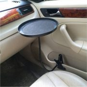 black-pink-white-Car-food-tray-folding-dining-table-drink-holder-car-pallet-back-seat-water