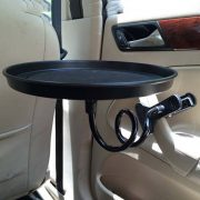 black-pink-white-Car-food-tray-folding-dining-table-drink-holder-car-pallet-back-seat-water-2