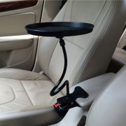 black-pink-white-Car-food-tray-folding-dining-table-drink-holder-car-pallet-back-seat-water-3