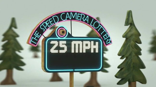 speed camera lottery